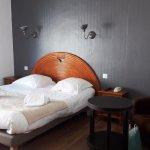 notre chambre, de bon goùt, confortable et simple