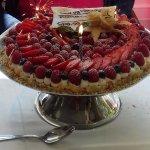 le gâteau anniversaire