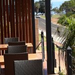 Our outdoor deck area for a quiet drink & an afternoon snack