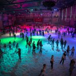 A Foam Party at the National Ice Centre