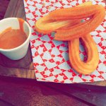 Churros with Caramel