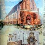 Kościół w Trzęsaczu w stanie pierwotnym