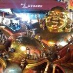 Hefang street Buddha at Nigh