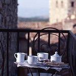Palazzo Malaspina, Colazione con vista sulla Toscana