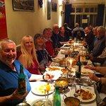 Rotary Club members at Shahi Nepalese Restaurant