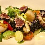 salad nicoise a la Diekmann with Sashimi tuna