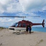 Landing on Barbuda