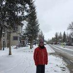 Snow scene of Breck