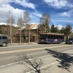 Old Breck tram main street