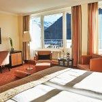 Zimmer mit Blick auf das Bergpanorama