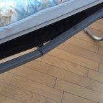 broken bed frame