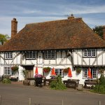 The Red Lion - a lovely spot on a sunny day