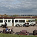 The Hiker Cafe - ideally placed for a drink, ice cream or bite to eat.
