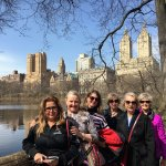Kenny took a group picture of us in Central Park.