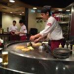 Chibo chef hard at work