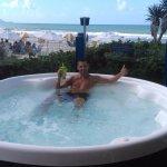 Desde la playa del Hotel Costa Norte Ingleses