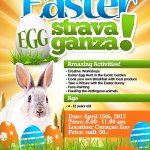 Join us this Saturday for our second Easter EGGstravanganza Egg hunt and much more