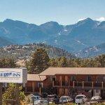 Famous Estes Park view of Rocky Mountain National Park