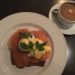 Superb Eggs Benedict and very well made Coffee