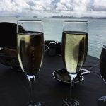 Celebrating my birthday with Mumm Champagne