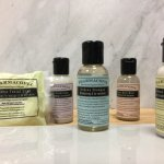 Natural and organic Pharmacopia amenities in all of the rooms