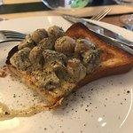 Mushroom dish for starters