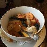 Cioppino is fabulous and filling!