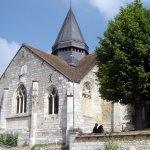 The church at Giverny © Robert Bovington