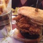 Oyster Rockefeller Burger