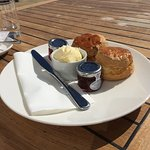 Afternoon cream tea , gorgeous scones