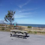 picnic table near battery 519