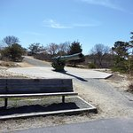 bench at Ft. Miles