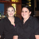 Bar Waitstaff Tara & Stephanie.