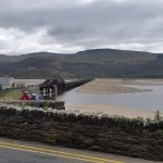 View across the Bridge from Barmouth