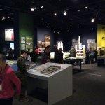 Vimy exhibit during opening week April 7, 2017