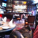 The bacchus Lounge at the Wedgwood is luxurious yet unpretentious.