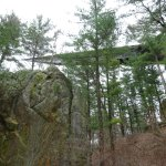 The rock formation and infinity room