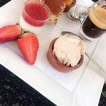 Assiette dégustation et café gourmand