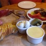 Antipasti platter to share