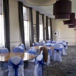 Wedding suite prepared for reception