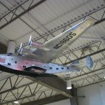 Model of a Martin flying boat