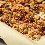 Homemade granola, delicious