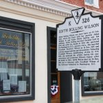 Edith Bolling Galt Wilson Museum Entrance