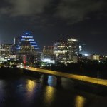 View of Austin at night