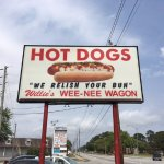 Your Sign For Hot Dog Excellence in Brunswick