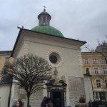 Smallest church in Krakow