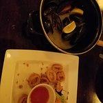 Mussels & fried calamari