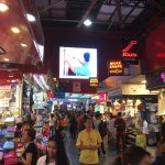 This is your place if you need souvenirs! A great experience, lots off hustle and bustle! Fun, i