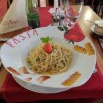 pasta aglio olio - delicious