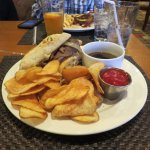 French dip at the hotel returant